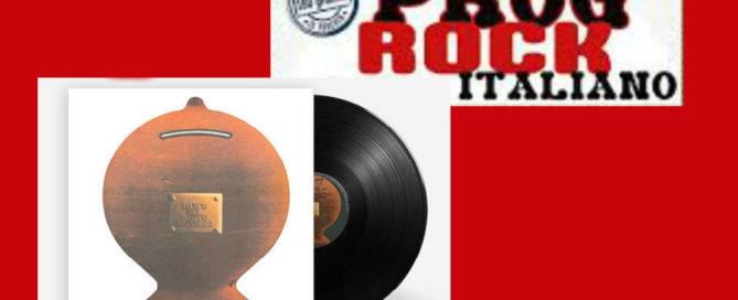 prog rock italiano banco del mutuo soccorso in edicola