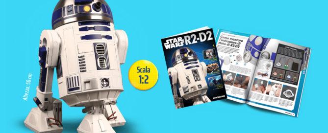 Star Wars R2-D2 in edicola