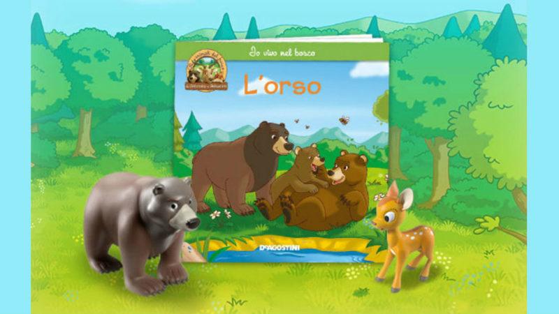 gli animali del bosco seconda uscita