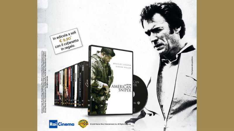 i grandi film di clint eastwood in edicola