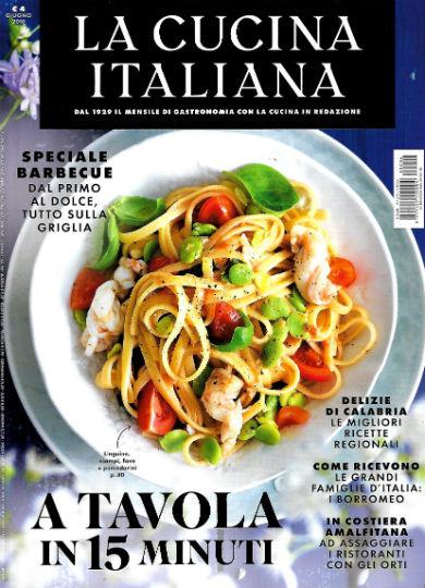 La cucina italiana in edicola edicola amica riviste e for Riviste cucina