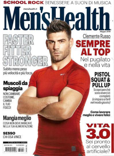 men's health maggio 2018 in edicola