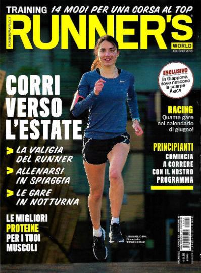 runner's world giugno 2018 in edicola