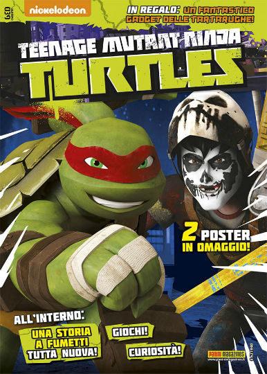 teenage mutant ninja turtles maggio 2018 in edicola