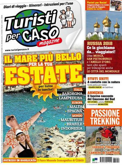 turisti per caso magazine maggio 2018 in edicola