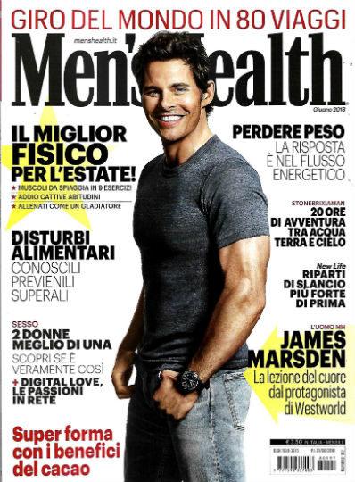 men's health giugno 2018 in edicola