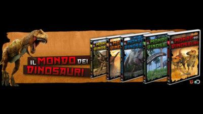 il mondo dei dinosauri collana in edicola