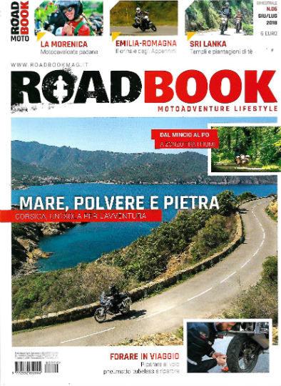 road book luglio 2018 in edicola