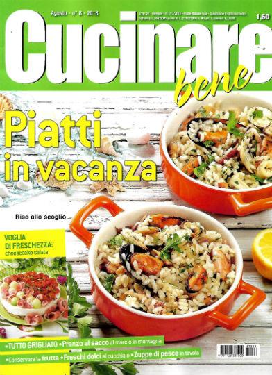 Cucinare bene in edicola edicola amica riviste e for Cucinare 2018