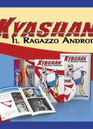 kyashan il ragazzo androide collana in edicola