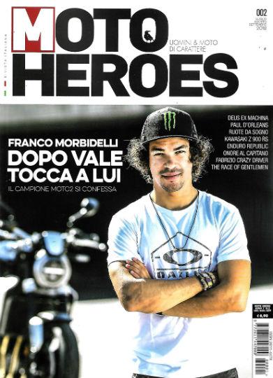 moto heroes luglio 2018 in edicola
