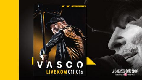 vasco live kom in edicola