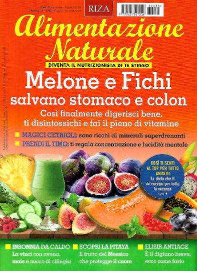 alimentazione naturale agosto 2018 in edicola