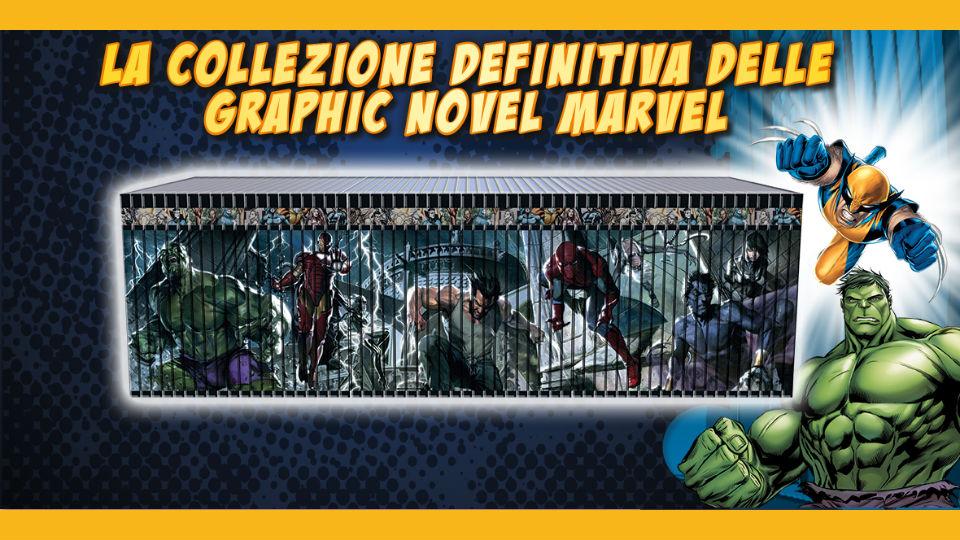 graphic novel marvel collezione in edicola