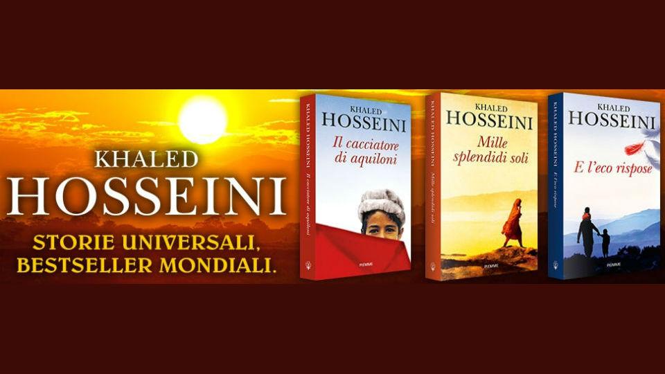 romanzi di khaled hosseini in edicola