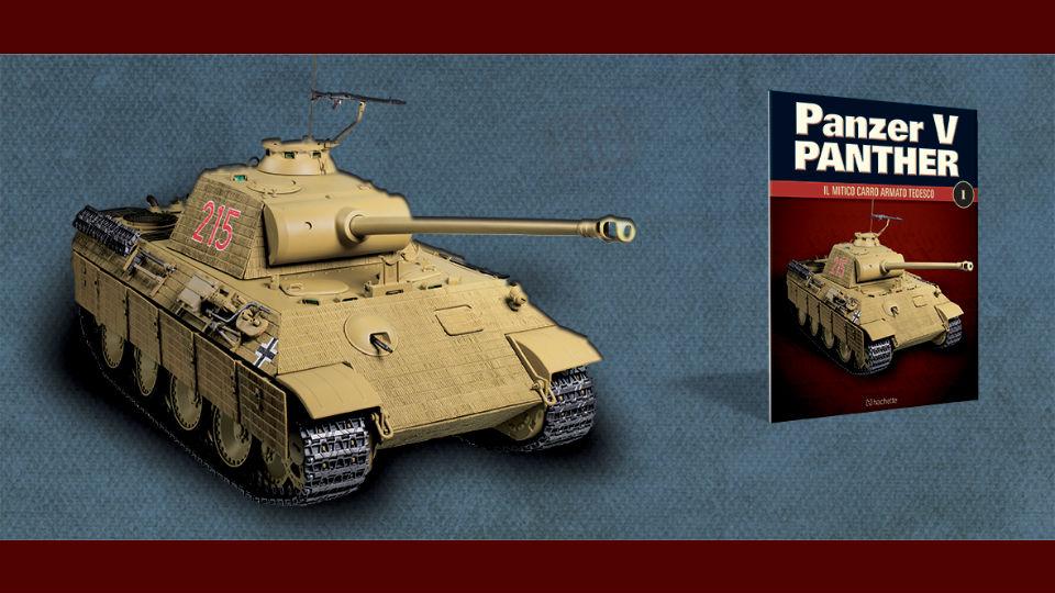 panzer v panther collana modellismo in edicola
