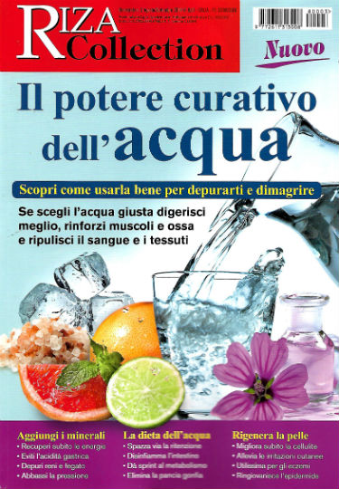 riza collection agosto 2018 in edicola