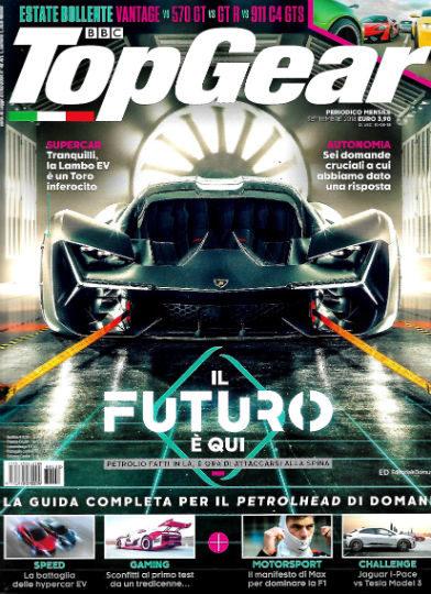 top gear settembre 2018 in edicola