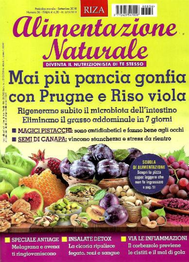 alimentazione naturale settembre 2018 in edicola