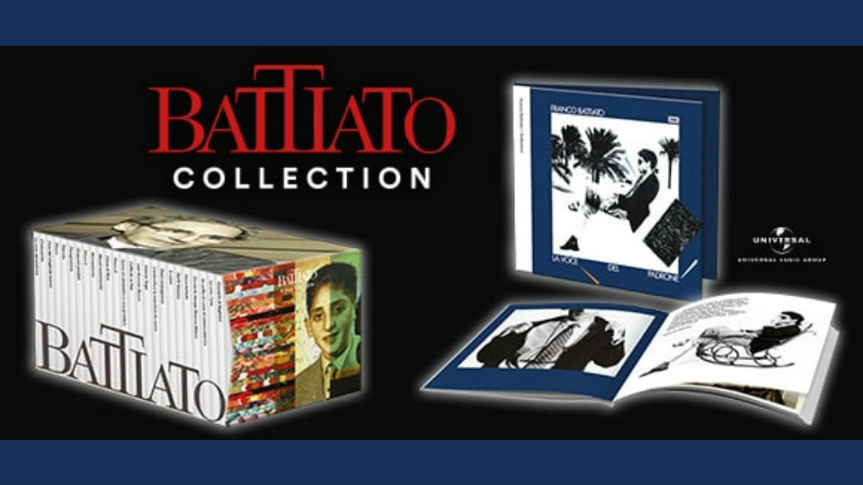 battiato collection in edicola