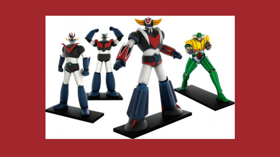 go nagai robot collection in edicola