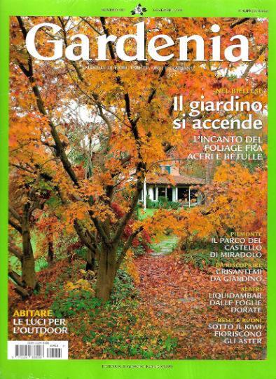gardenia novembre 2018 in edicola