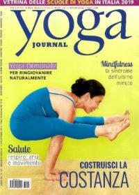 yoga journal ottobre 2018 in edicola