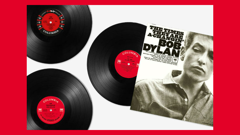 bob dylan vinyl collection prima uscita