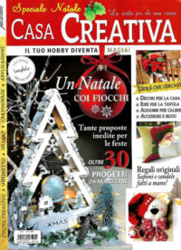 casa creativa dicembre 2018 in edicola