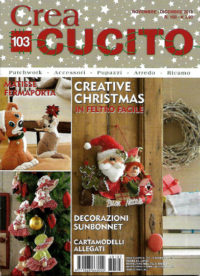 crea cucito novembre 2018 in edicola
