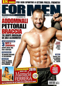 for men novembre 2018 in edicola