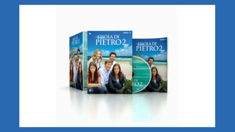 l'isola di Pietro 2 dvd in edicola