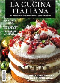 la cucina italiana dicembre 2018 in edicola