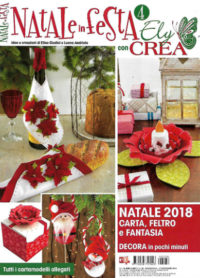 natale in festa con ely crea novembre 2018 in edicola