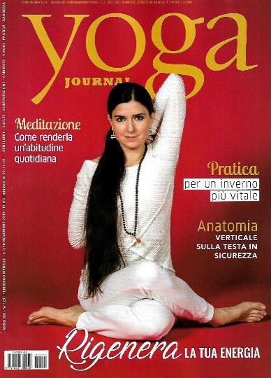 yoga journal novembre 2018 in edicola