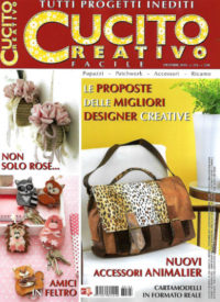 cucito creativo dicembre 2018 in edicola