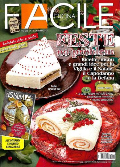 Facile cucina in edicola edicola amica riviste in edicola for Riviste cucina