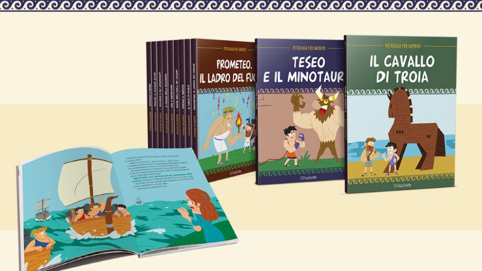 mitologia per bambini collana 2018/2019 in edicola