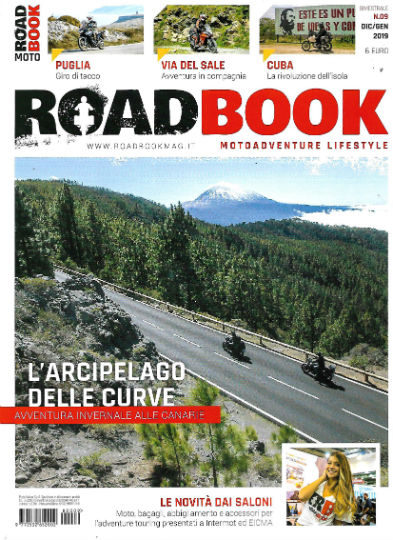 road book dicembre 2018 in edicola