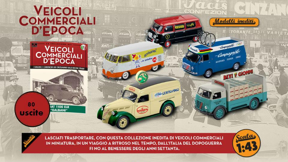 veicoli commerciali d'epoca collana in edicola 2019
