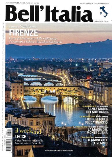 bell'italia gennaio 2019 in edicola