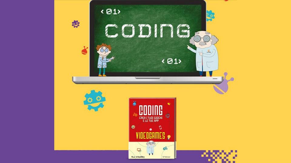 coding per ragazzi collana in edicola