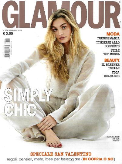 glamour febbraio 2019 in edicola