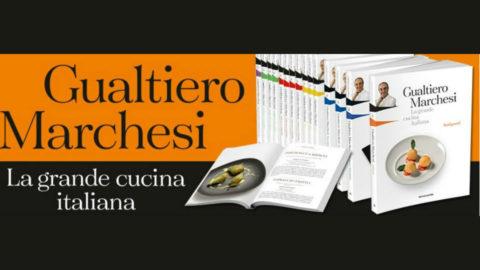 Gualtiero Marchesi la grande cucina italiana in edicola