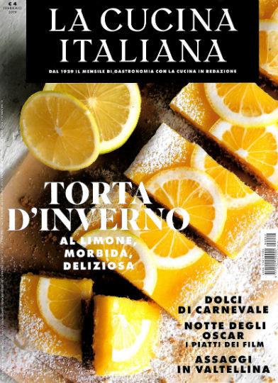 la cucina italiana febbraio 2019 in edicola