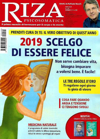 riza psicosomatica gennaio 2019 in edicola