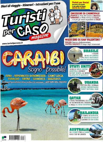 turisti per caso gennaio 2019 in edicola