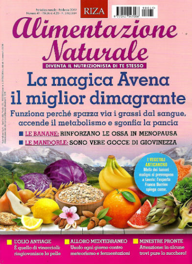 alimentazione naturale febbraio 2019 in edicola