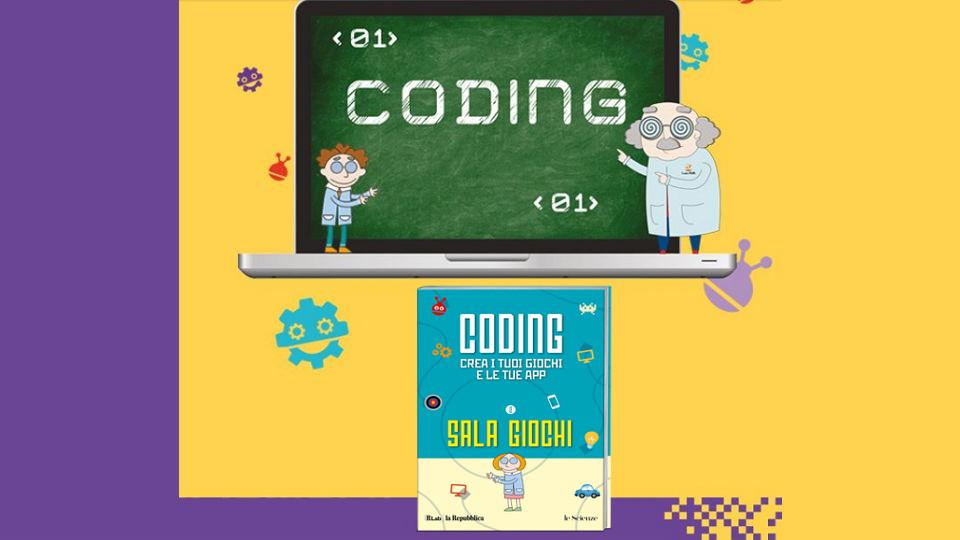 coding per ragazzi seconda uscita in edicola