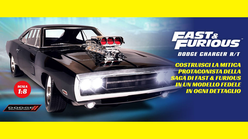 fast & furious dodge charger r/t in edicola